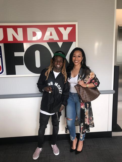 Agent Nicole Lynn & Her Boss, Lil Wayne!