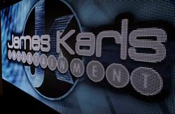 JK Logo on Video Wall