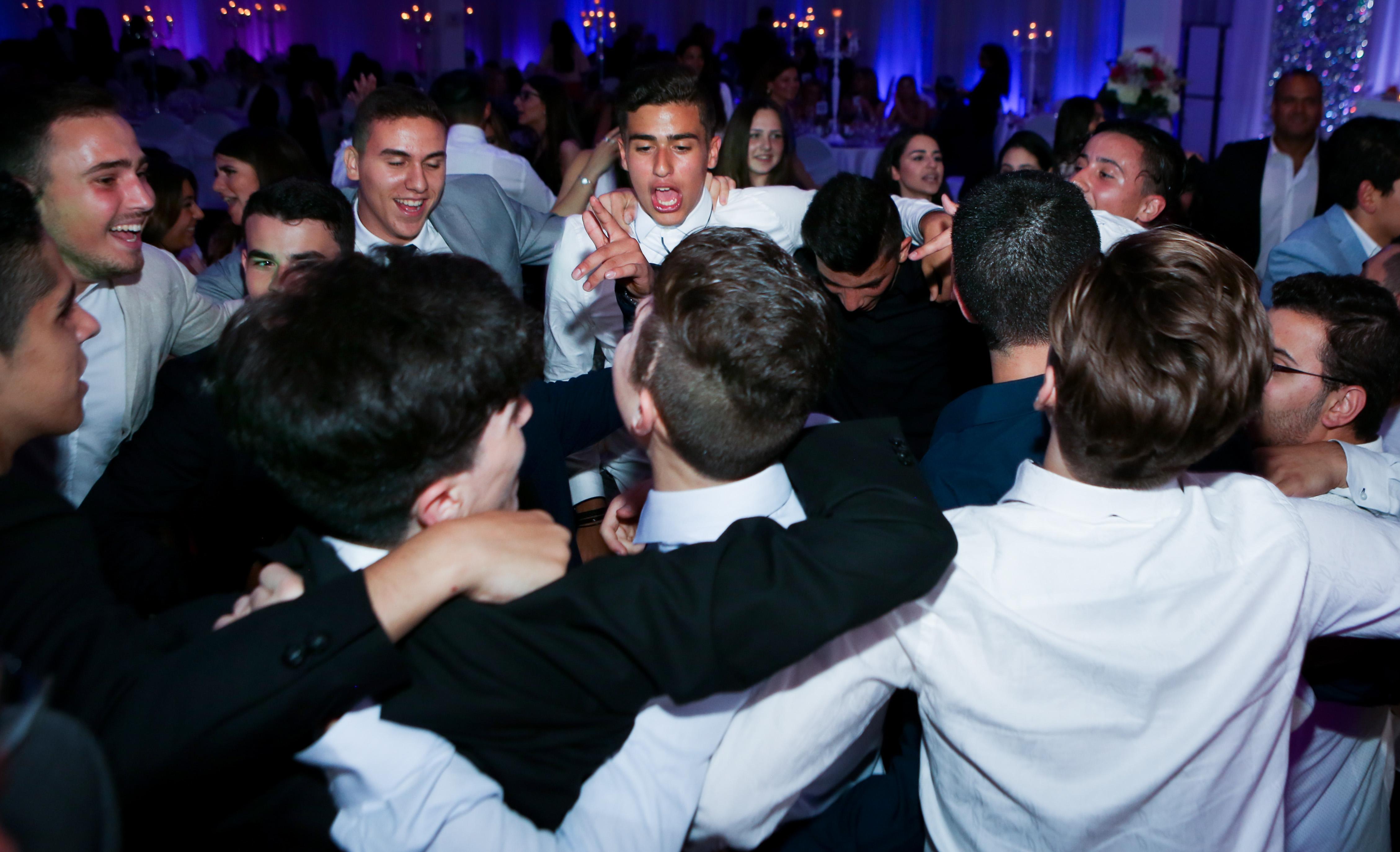 Boys In Circle