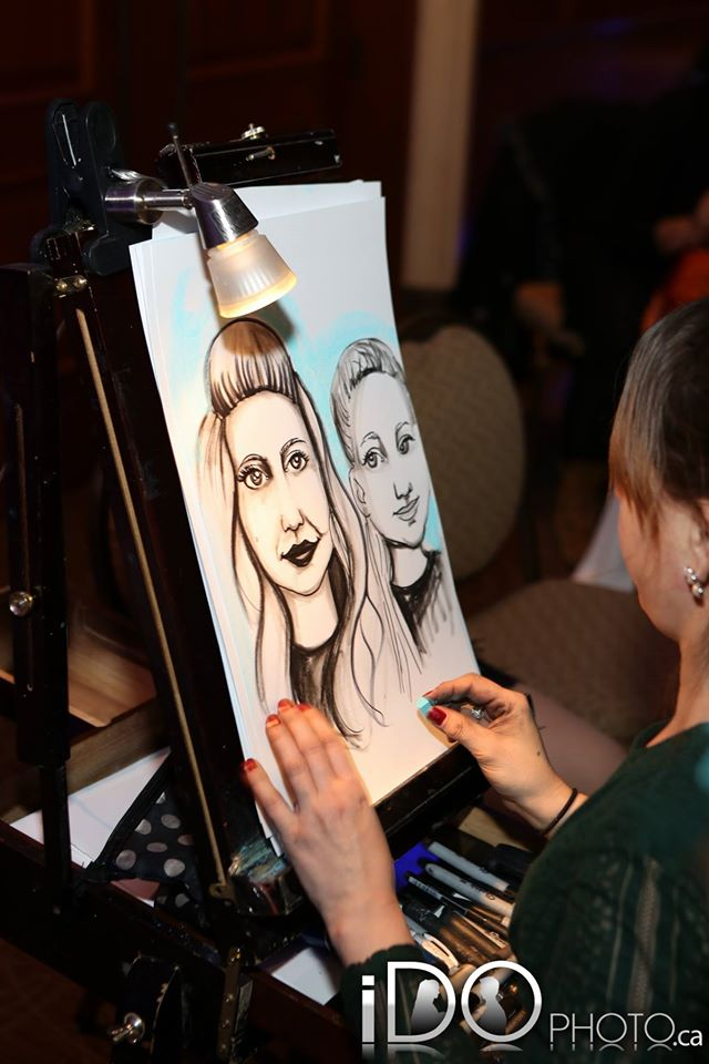 Caricaturist in Action2