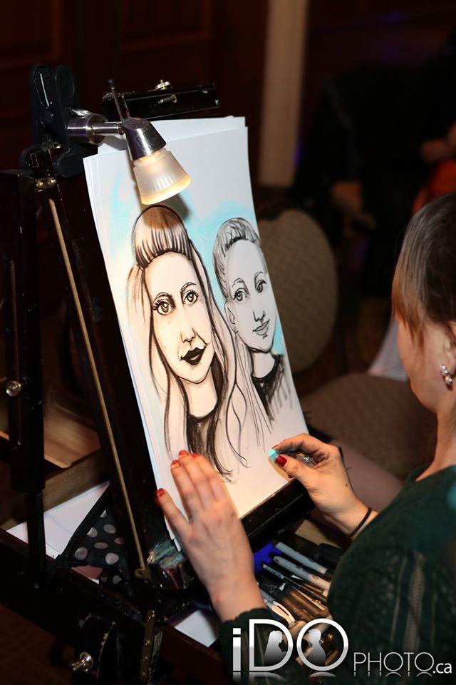 Caricaturist in Action2
