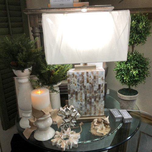 Uttermost Lamp and Liown Candles