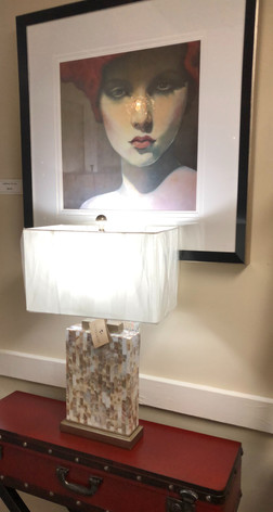 Paragon Print and Uttermost Lamp