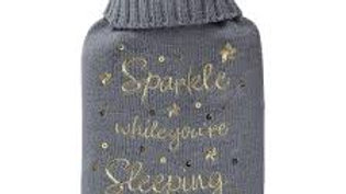 Sparkle while you are sleeping hot water bottle