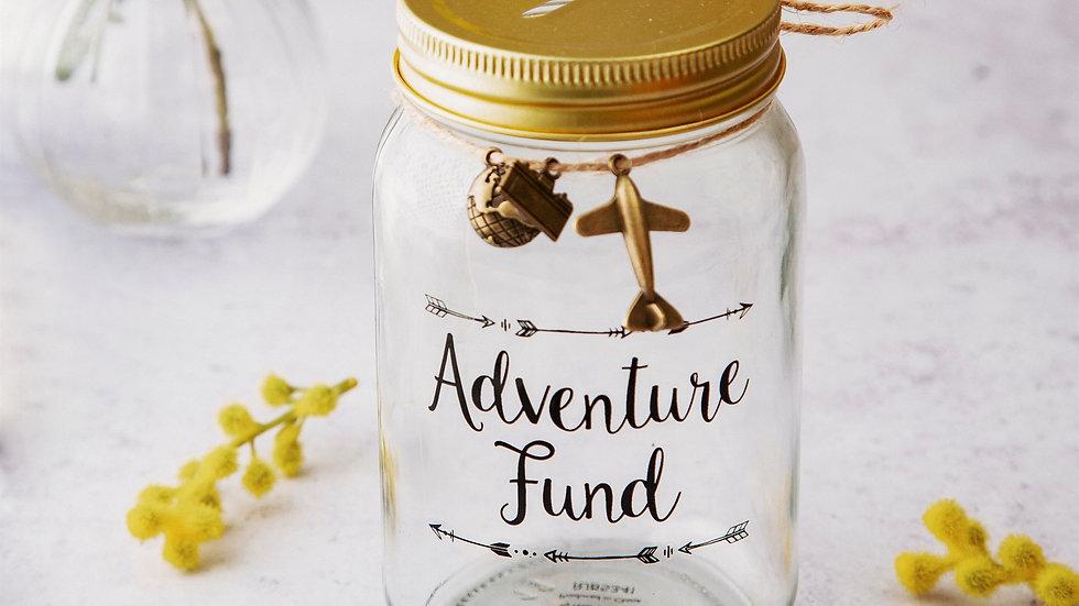 Adventure Money Jar