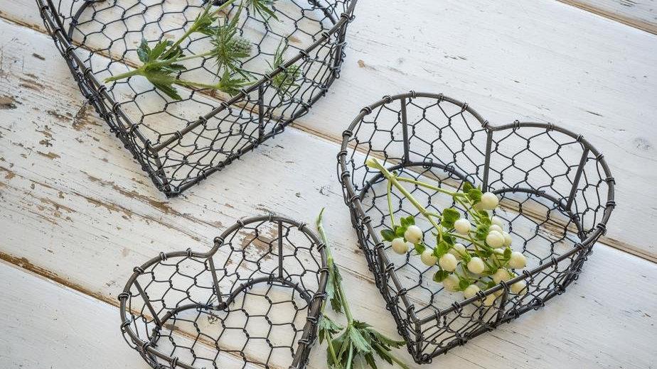 Nest of 3 Wire Baskets