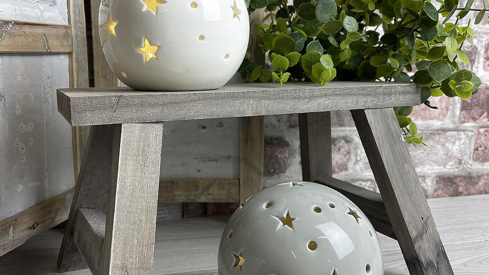 LED Balls with stars