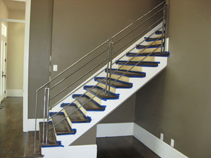 New home build in 2007 Staircase rail