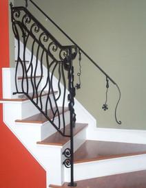 Fully customized handrail