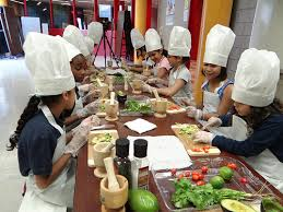 Children's cooking party