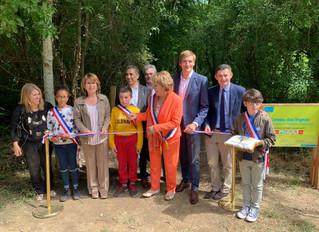 Inauguration de l'espace naturel sensible du Coteau des Vignes à Athis-Mons