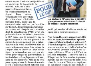 """""""L'Etat brade Aéroports de Paris pour raison budgétaire"""""""