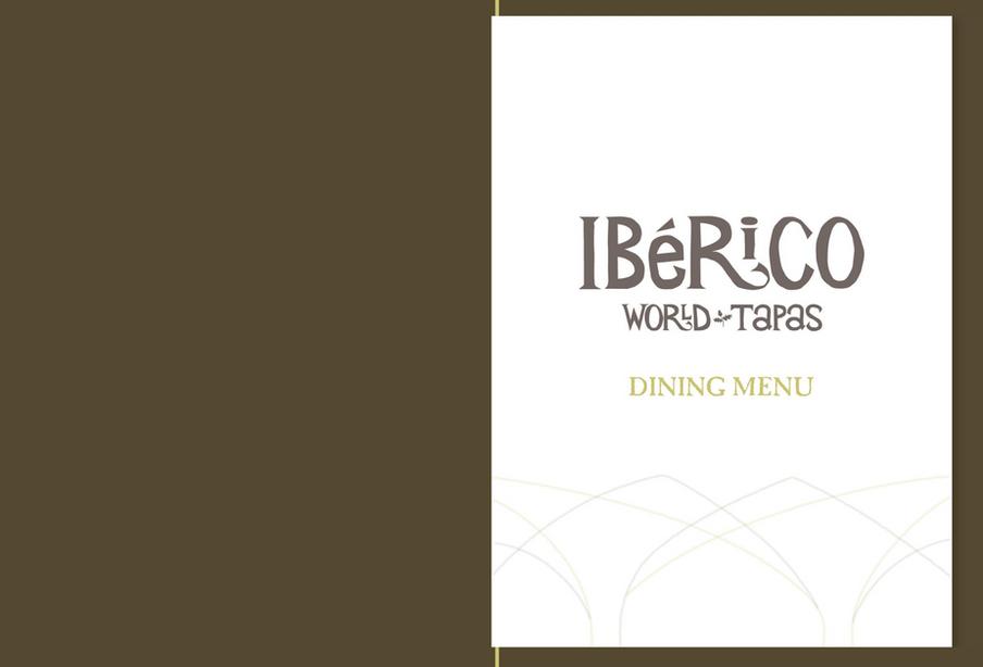 Iberico Dining Menu