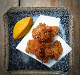 Deep fried oysters, kakifurai, picalilli