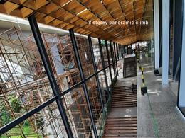 8 storey panoramic climb