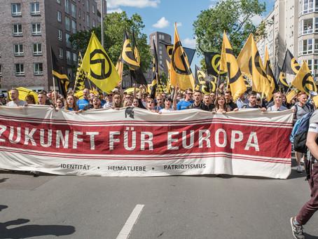 Identitäre Demo in Berlin - 2017
