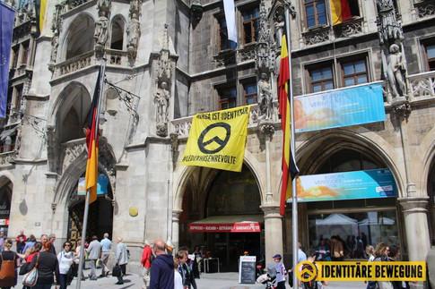Münchner Rathaus verschönert