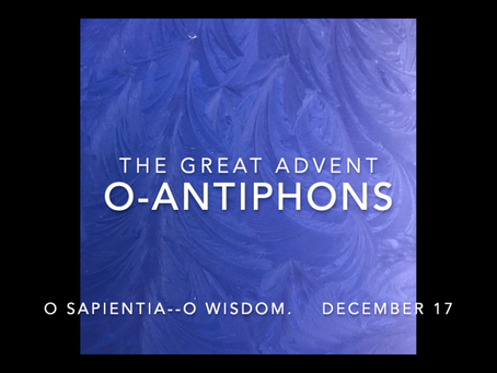 Advent Celebration, O-Antiphons