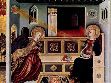 Sunday, December 20, Fourth Sunday of Advent