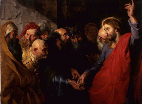 Sunday, October 18, the Twentieth Sunday After Pentecost