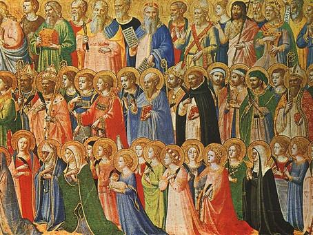 Sunday, November 1, All Saints' Day