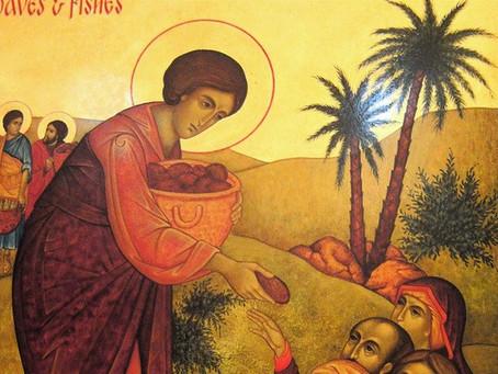 Sunday, July 25, Ninth Sunday After Pentecost