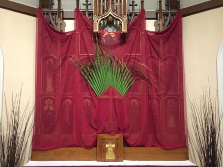 Sunday, March 28, Palm Sunday