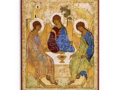Sunday, May 30, Trinity Sunday