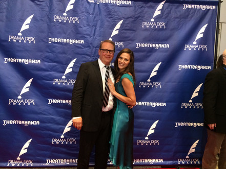 With Kendall at the Drama Desk Awards