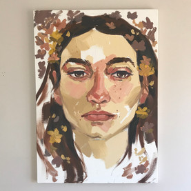 Yellow Portrait Study, Oil on canvas, not available