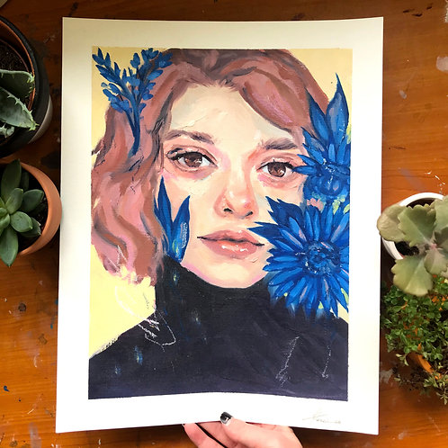 Sunflower, Original Artwork