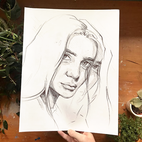 Lost In Thought (4), Original Artwork