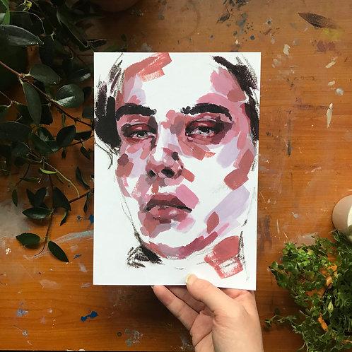 Portrait Study, Art Print