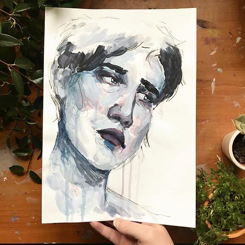 Blue (1), Original Artwork