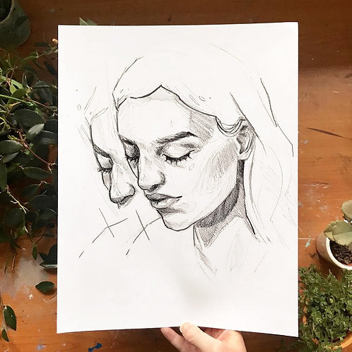 Lost In Thought (1), Original Artwork