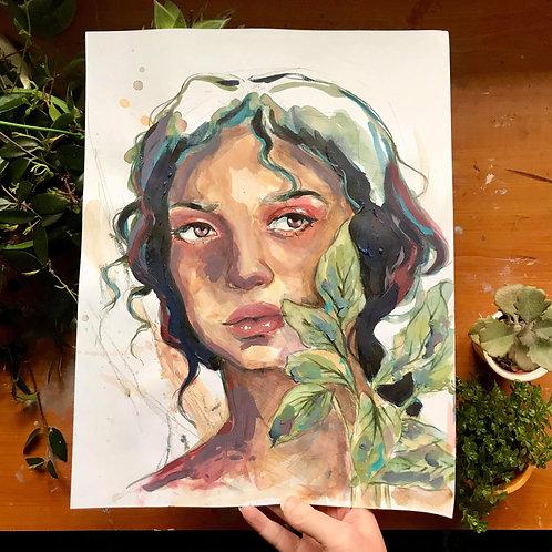Shades of Green, Original Artwork