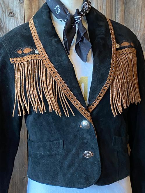 Twisted Fringe Jacket