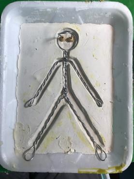 Bendy Guy's skeleton