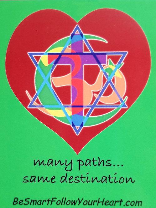 many paths... same destination magnet