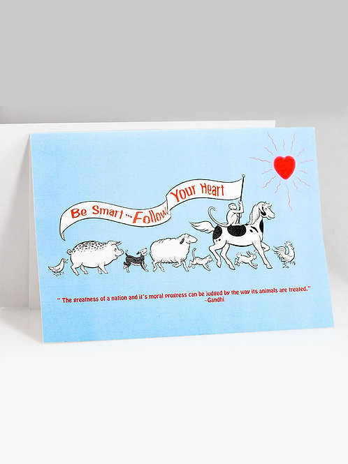 animal parade note card