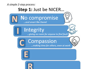 How to be a Christian at Work?  Just be NICER - Part 3