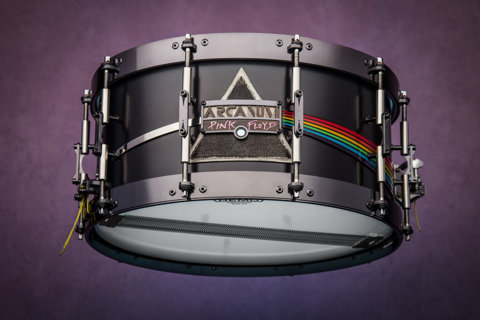 "Marco Leucci Signature snare drum     ""Dark Side of The Moon"""