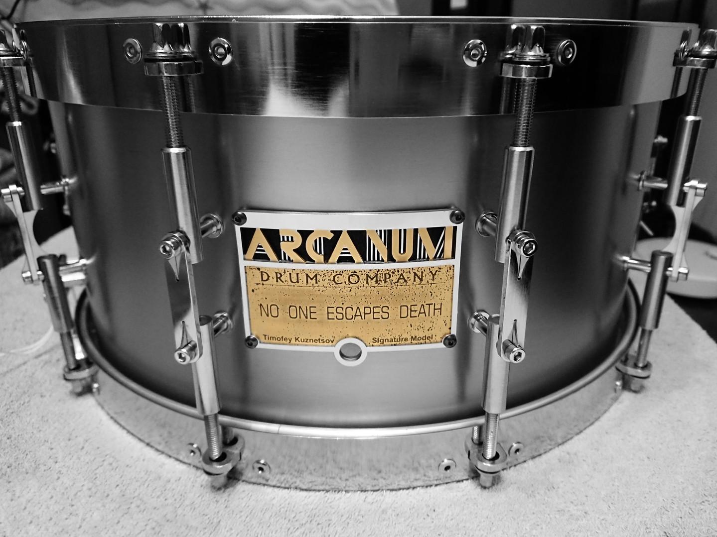 Timofey Kuznetsov Signature snare drum