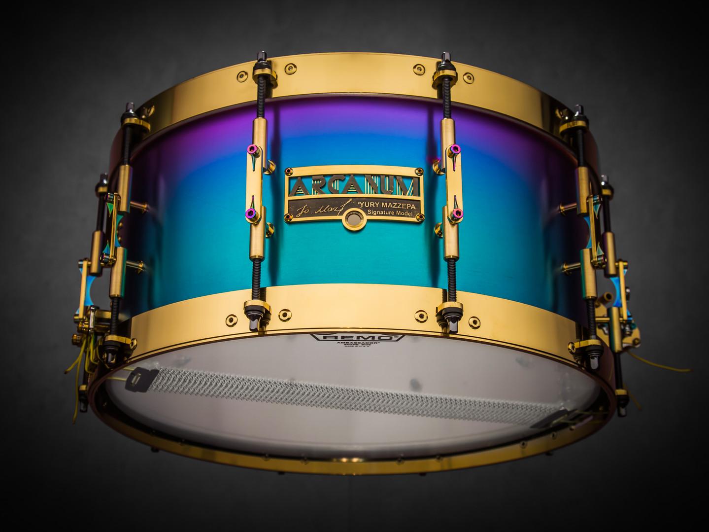 Yury Mazzepa Signature snare drum