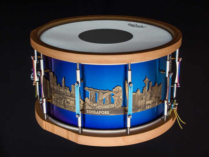 Rionald A. Soerjanto Signature snare drum