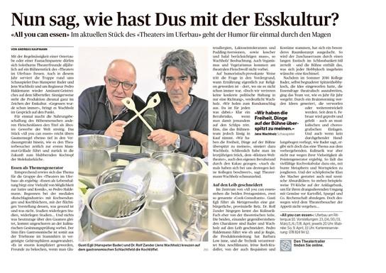 Ausgabe 'Solothurner Zeitung', 15.03.201