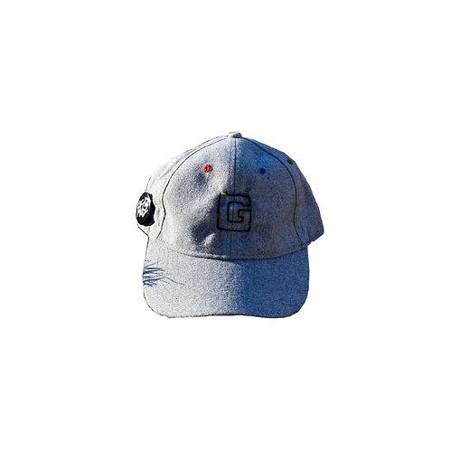 G for GOD Dad Cap (Wool Grey)
