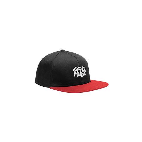 GFTDMNDZ OG SNAPBACK HAT (Black/Red)