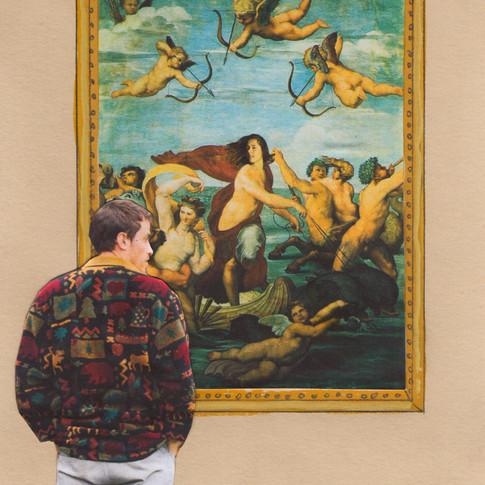 Hide yourself in a work of Art