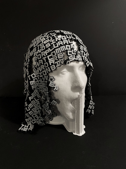 Lost Head as a 3D print from Scan